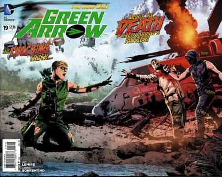green arrow de jeff lemire