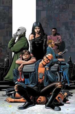 Miembros de Doom Patrol de Grant Morrison