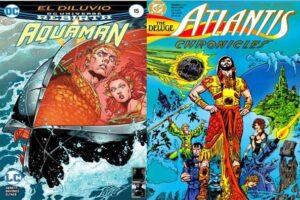 portada de mejores cómics de aquaman