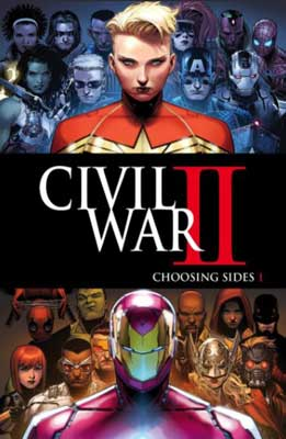 capitana marvel en civil war II