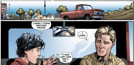 clark kent y su padre