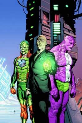 Metallo,Luthor y Parasyte