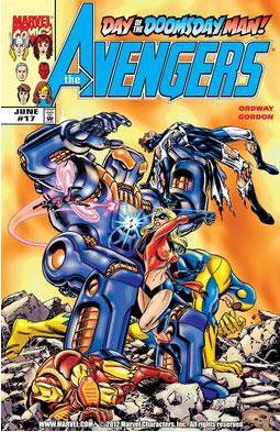 Mejores villanos de Capitana Marvel Doomsday Man