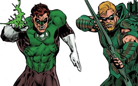Green Lantern y Green Arrow