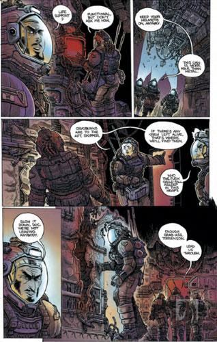Comics imprescindibles de Dark Horse ALIENS DEAD ORBIT