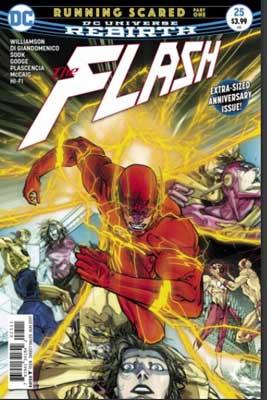 flash #25 rebirth