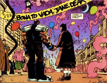 Jane y Robotman