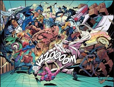 Doom Patrol y Liga de la Justicia