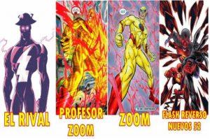 quién es flash reverso en cómics y serie