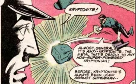 Anti-kryptonita es uno de los Tipos de Kryptonita