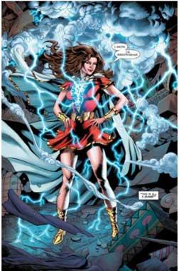 mary marvel es uno de los miembros de la Familia Shazam.