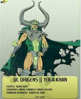 Yuga Khan es uno de Los Nuevos Dioses más poderosos.