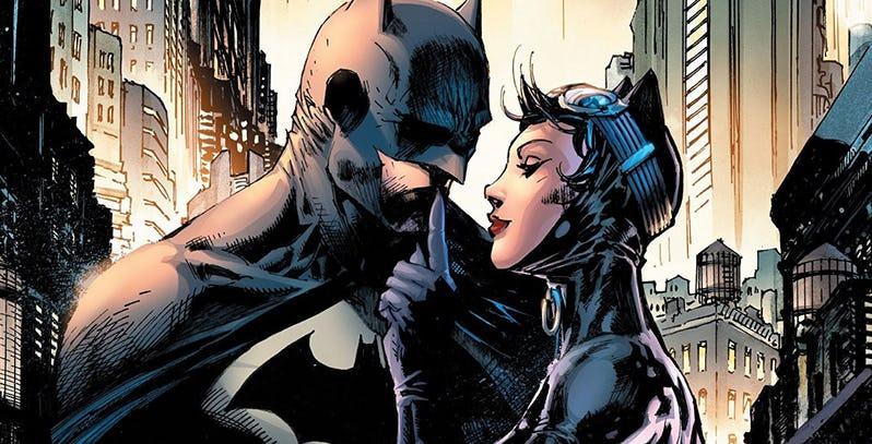batman hush: batman y catwoman
