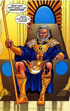 Highfather es uno de Los Nuevos Dioses más poderosos.