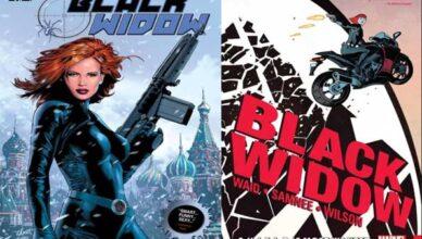 mejores cómics o historietas de black widow