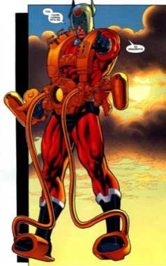 orion es uno de Los Nuevos Dioses más poderosos.