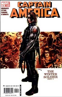portada del Capitán América: El Soldado de Invierno