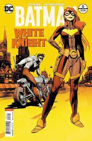 robin y batgirl en batman white knight