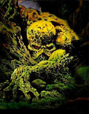 Quién es Swamp Thing