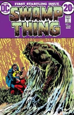 primera aparición de swamp thing