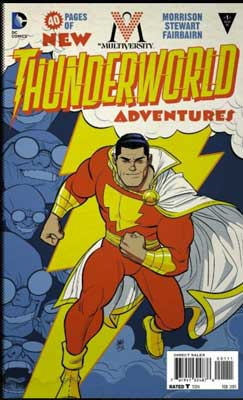 thunderworld es uno de los mejores cómics de shazam