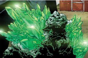 Tipos de Kryptonita: kryptonita verde