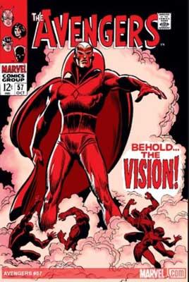 vengadores contemplen la vision