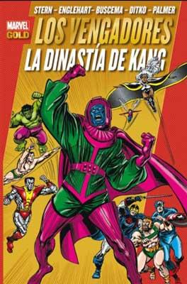 Los Mejores cómics de Los Vengadores dinastía de kang