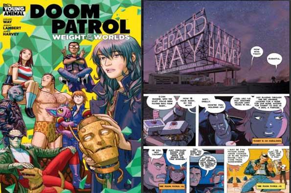 Doom Patrol: Peso de los mundos #1