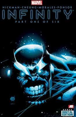 infinity es uno de Los Mejores cómics de Los Vengadores