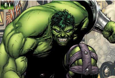 fuerza de hulk
