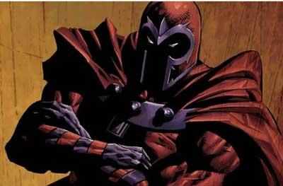 cómic de Magneto