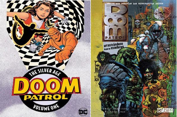 portada de los mejores cómics de doom patrol