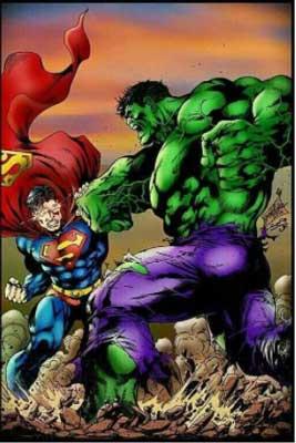 superman espacio
