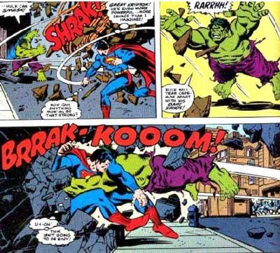 superman vs hulk 1979