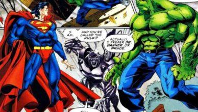 superman vs hulk enfrentamientos en los cómics