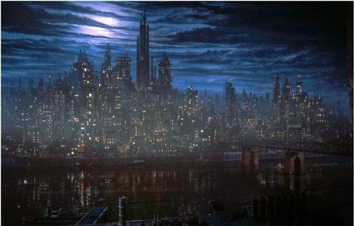 Gotham City de Tim Burton