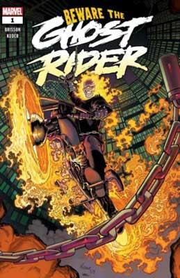 Johnny Blaze y Danny Ketch en nuevo cómic de ghost rider. Esta es la portada de Beware Ghost Rider