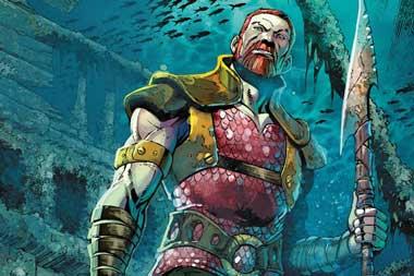 mejores villanos de Aquaman: Nereus