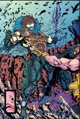 mejores villanos de Aquaman: triton