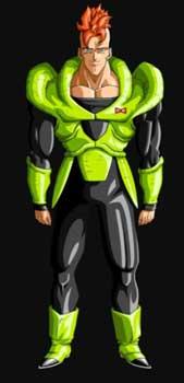 Androides de Dragon Ball: númer 16