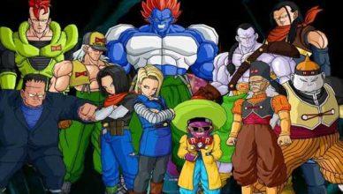 Androides de Dragon Ball