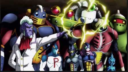 androides del universo 3