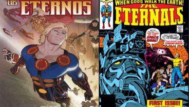 top cómics de los eternos
