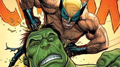 savage wolverine #5. Hulk vs wolverine