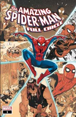 portada de spiderman full circle