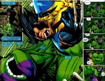 wolverine vs hulk en the incredible hulk 454