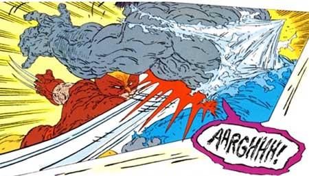 incredible hulk 340 enfrentamiento entre hulk y wolverine