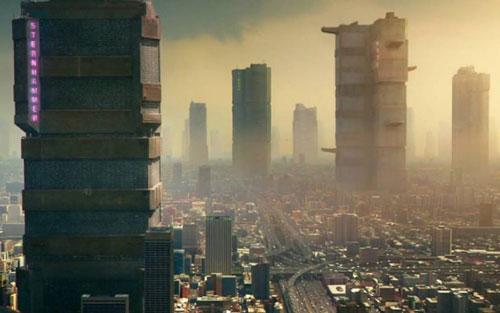 Mega City One en Dredd la película