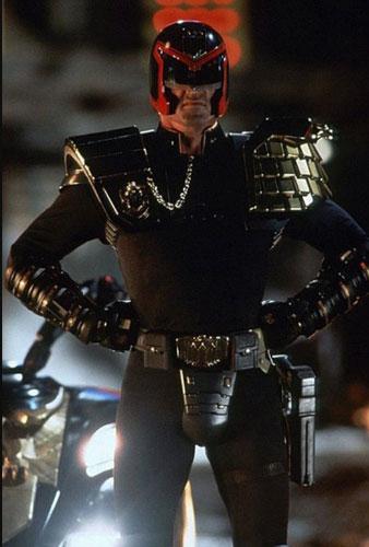 Stallone como el Juez Dredd